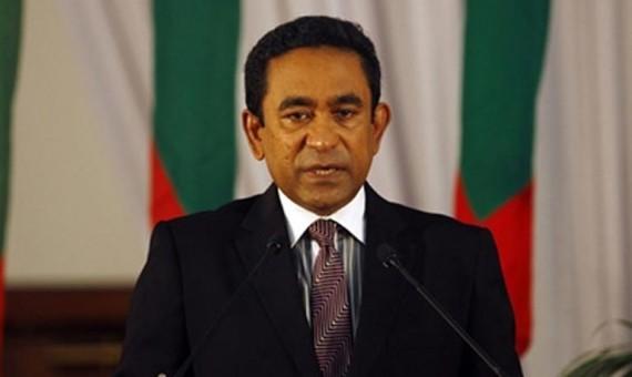رئيس جزر المالديف عبد الله يمين عبد القيوم