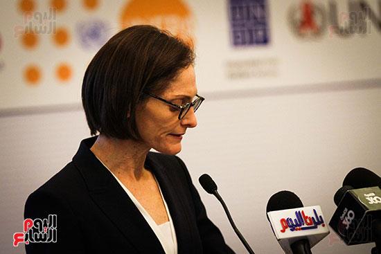 كلمة السيده شيري كارلن مدير الوكالة الأمريكية للتنمية الدوليه
