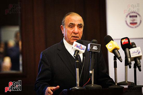 كلمة السيد اللواء ابو بكر الجندي رئيس الجهاز المركزي للتعبئة والإحصاء