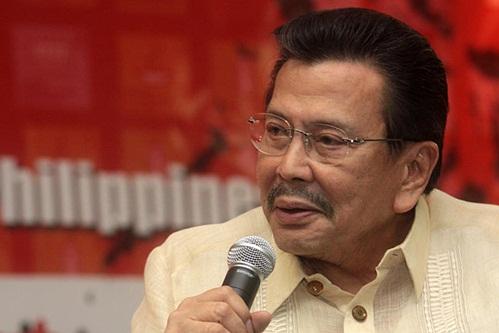 جوزيف استرادا الرئيس الفلبينى السابق