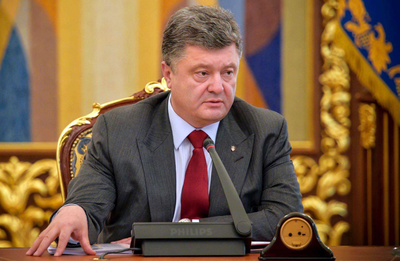 بيترو بوروشينكو الرئيس الأوكرانى الحالى
