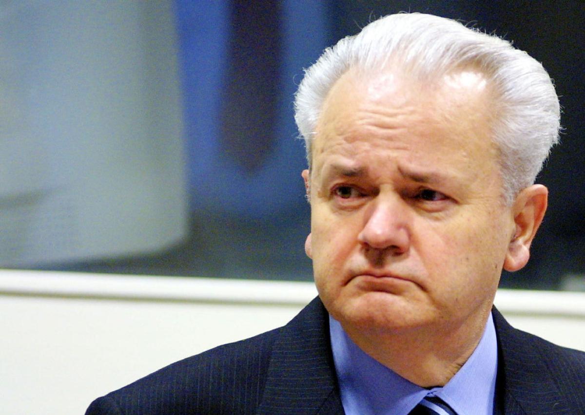 الرئيس الصربى الراحل سلوبدان ميلوسفيتش