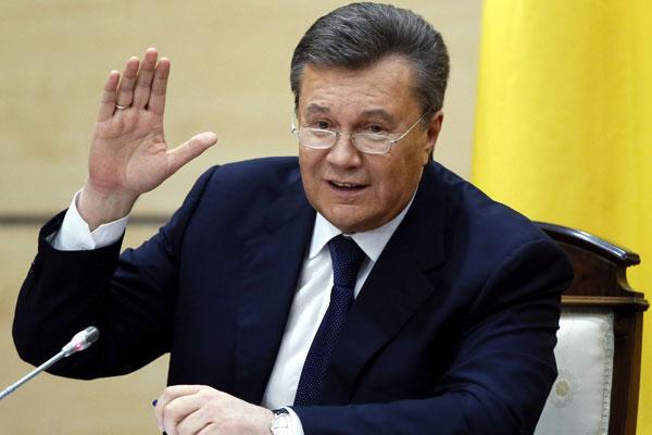 فيكتور يانكوفيتش الرئيس الأوكرانى السابق