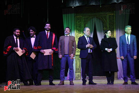 حفل ختام مهرجان المسرح العربى (3)