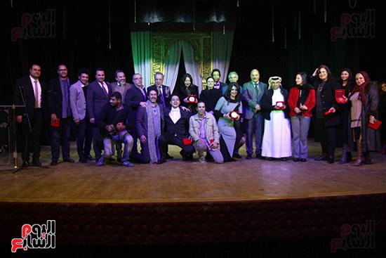حفل ختام مهرجان المسرح العربى (4)