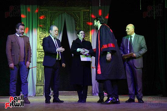حفل ختام مهرجان المسرح العربى (1)