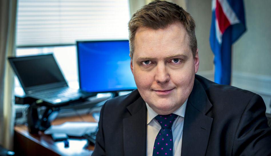 رئيس وزراء أيسلندا السابق سيجموندور دافيو