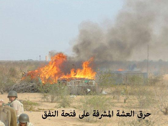 قوات حرس الحدود تدمر 7 أنفاق بسيناء وتضبط 685 مهاجرا غير شرعى بالسلوم (7)