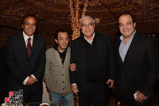 شريف باهر ومحمد النقلى وعلاء مرسى وعبده الوزير