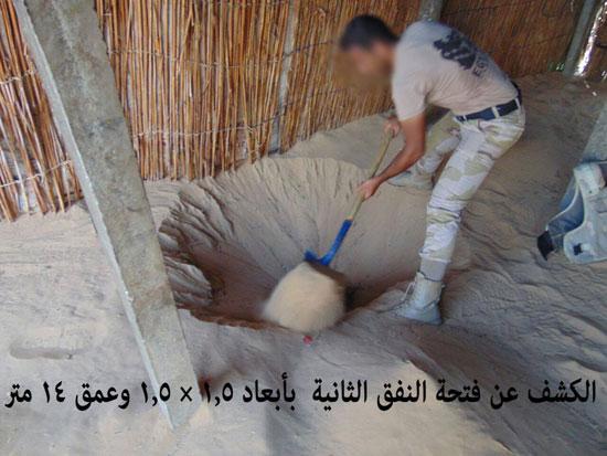 قوات حرس الحدود تدمر 7 أنفاق بسيناء وتضبط 685 مهاجرا غير شرعى بالسلوم (6)