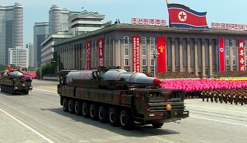 استعراض نووى لكوريا الجنوبية