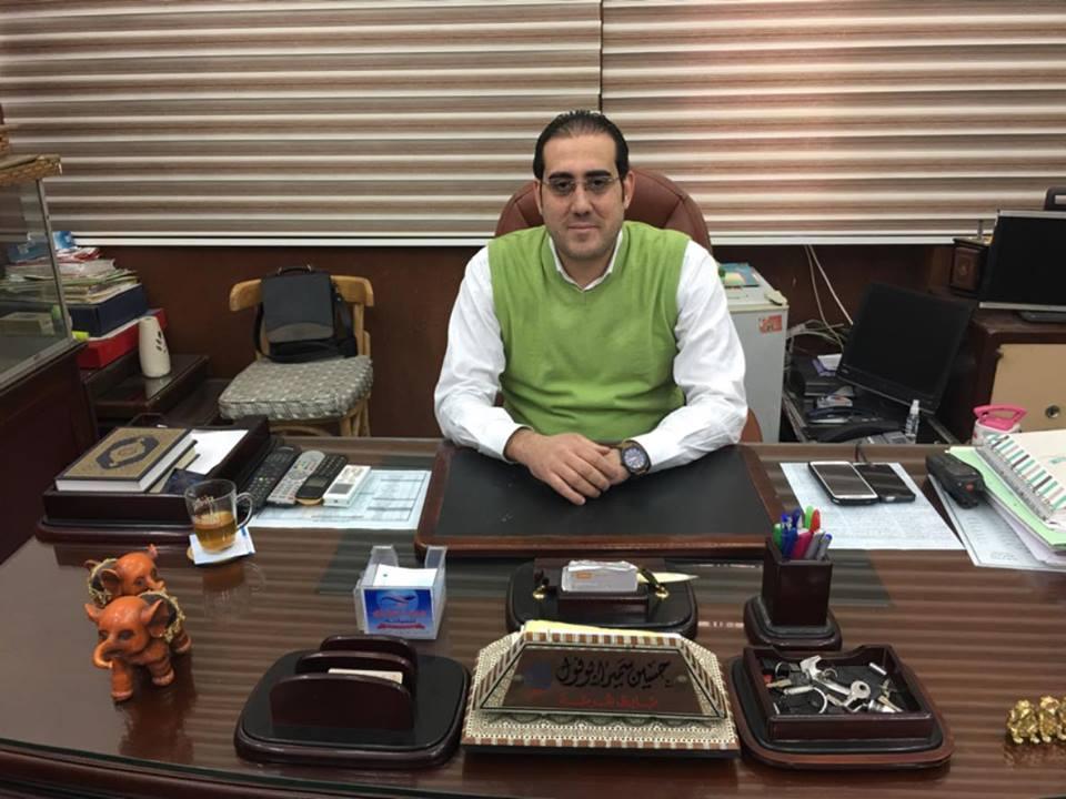 رقم 3 الرائد حسين أبوفول رئيس مباحث قسم أول الزقازيق