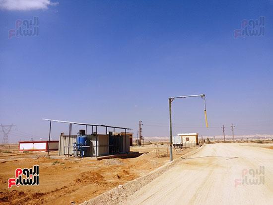 محطات المياه بوسط سيناء