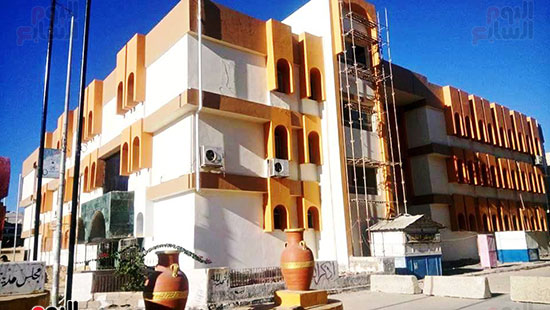 المقر الرئيسى لجامعة العريش