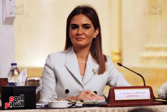 وزيرة التعاون الدولي الدكتورة سحر نصر