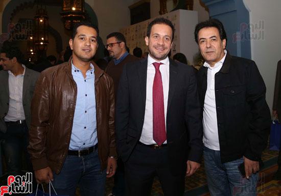 خيري رمضان ومحمد دسوقي رشدي ومحمد عفيفي