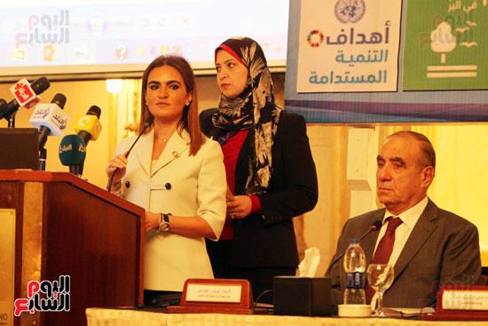كلمة الدكتورة سحر نصر وزيرة التعاون الدولي