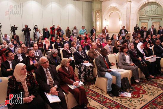مؤتمر التنمية المستدامة بحضور وزيرة التعاون الدولي