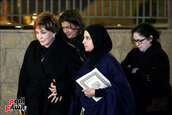 عزاء زوجة محمد صبحى (37)
