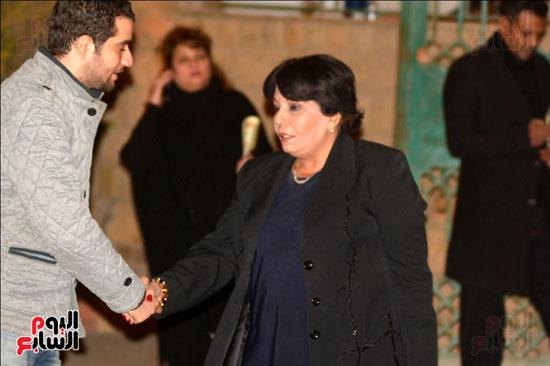 عزاء زوجة محمد صبحى (4)