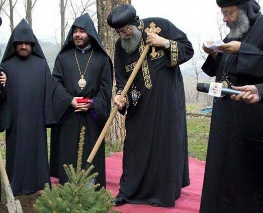 البابا تواضروس فى أرمينيا