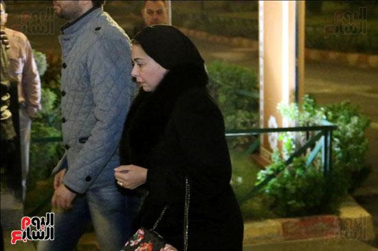 عزاء زوجة محمد صبحى (43)