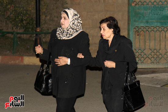 عزاء زوجة محمد صبحى (63)
