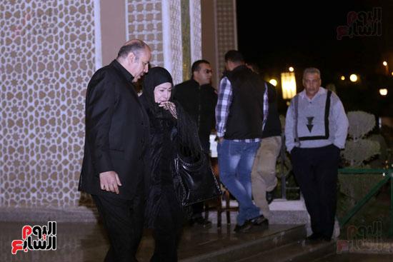عزاء زوجة محمد صبحى (2)