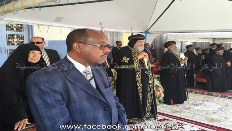 البابا تواضروس خلال زيارته لأثيوبيا