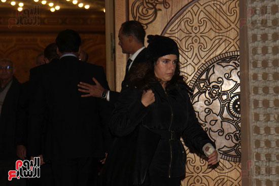 عزاء زوجة محمد صبحى (64)