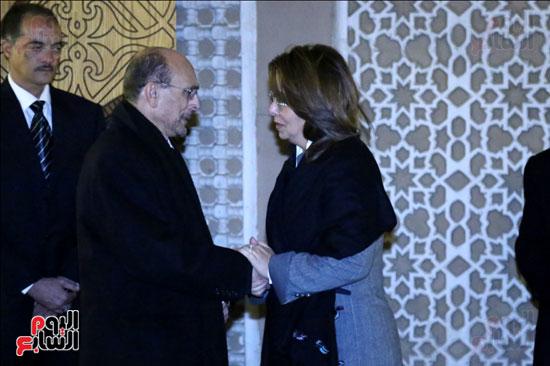 عزاء زوجة محمد صبحى (40)
