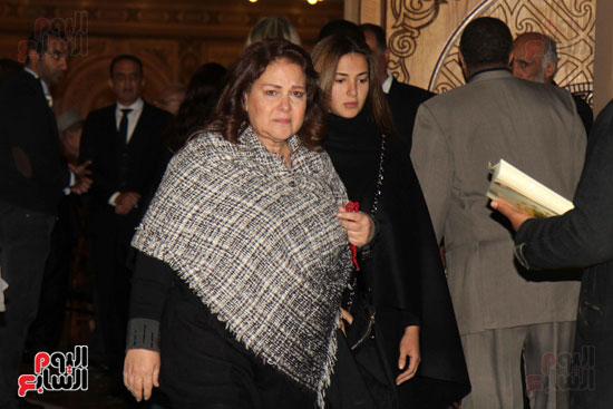عزاء زوجة محمد صبحى (24)