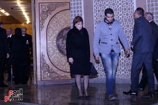 عزاء زوجة محمد صبحى (1)