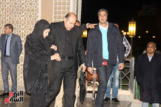عزاء زوجة محمد صبحى (52)