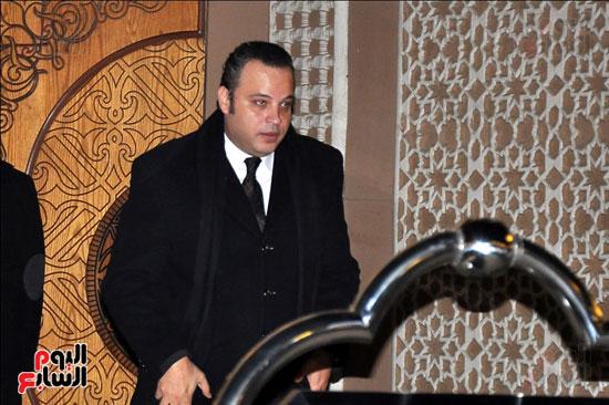 عزاء زوجة محمد صبحى (16)