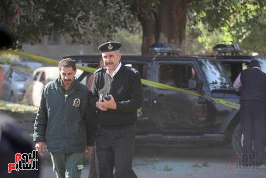 انفجار كمين شارع الهرم (34)
