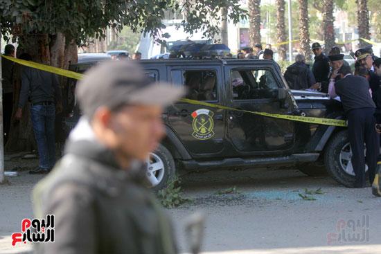 انفجار كمين شارع الهرم (30)