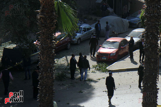 انفجار شارع الهرم (7)