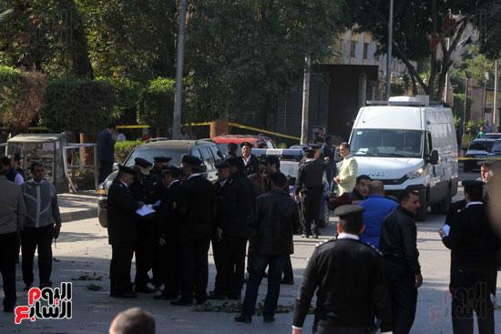 انفجار كمين شارع الهرم (21)