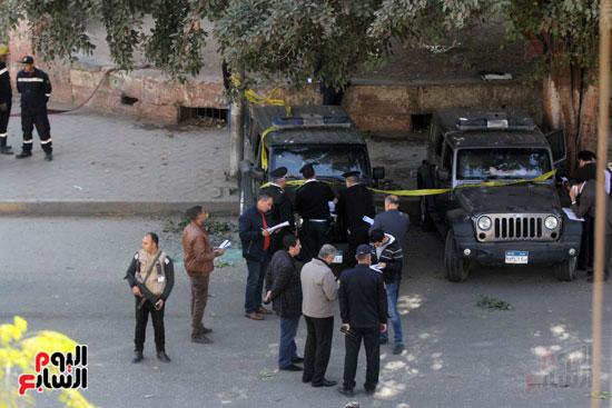 انفجار شارع الهرم (11)