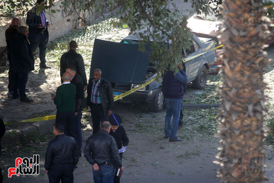 انفجار شارع الهرم (13)