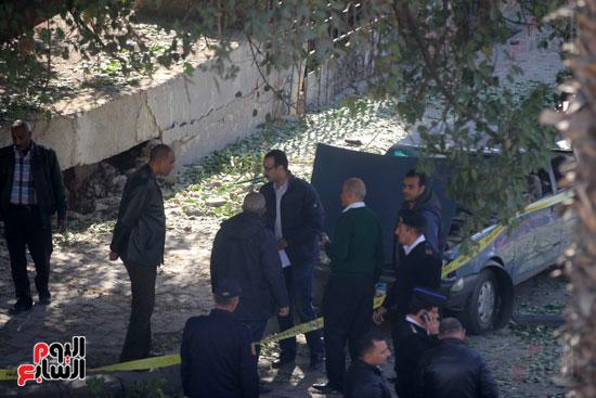 انفجار شارع الهرم (4)
