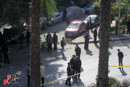 انفجار شارع الهرم (12)