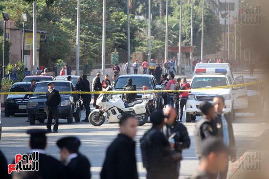 انفجار كمين شارع الهرم (23)
