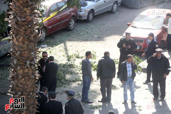 انفجار شارع الهرم (3)