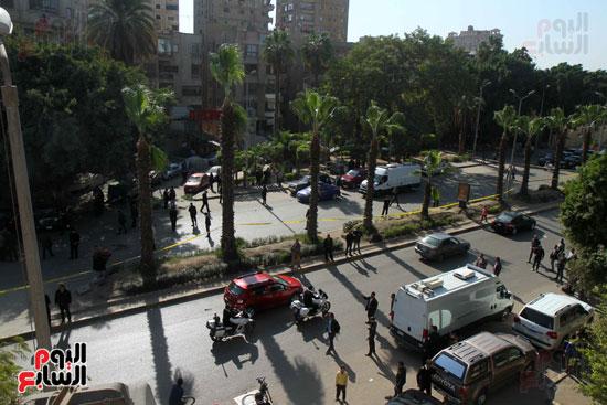 انفجار شارع الهرم (5)