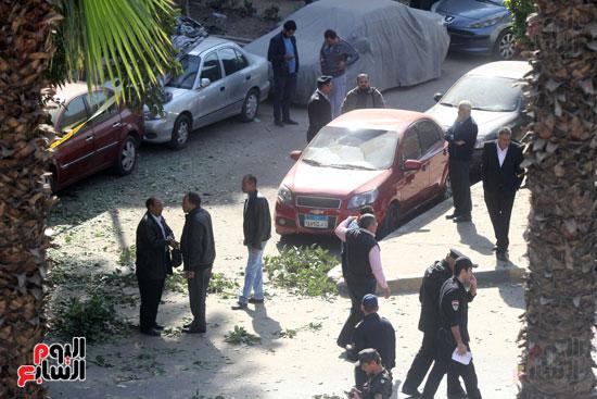 انفجار شارع الهرم (9)