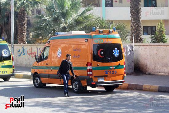 انفجار كمين شارع الهرم (24)