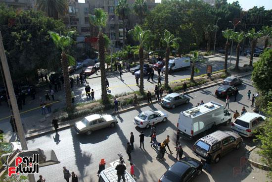 انفجار شارع الهرم (8)