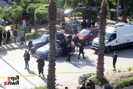 انفجار شارع الهرم (14)